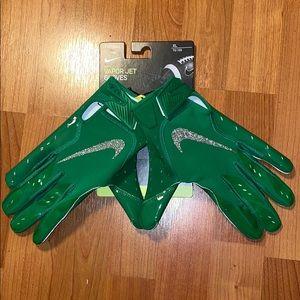 Nike Football Vapor Jet Gloves Oregon Ducks XL